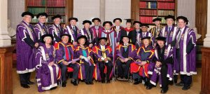 The University of Manchester honored Sir Fazle Hasan Abed with an accolade for his outstanding services in tackling poverty and empowering the poor in Bangladesh and globally through BRAC, the organisation he founded and leads