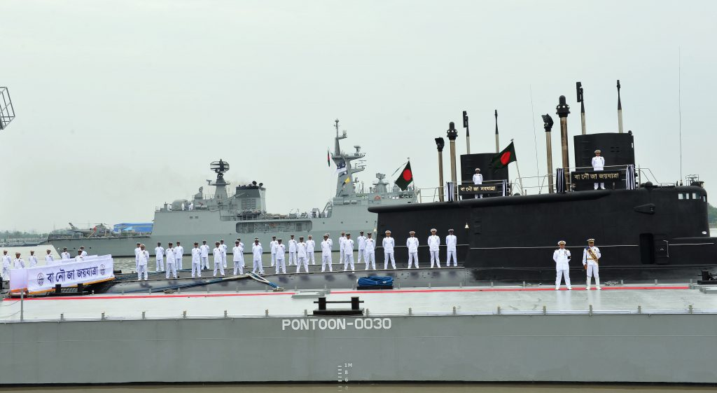 Bangladesh Navy Commissions First Submarines